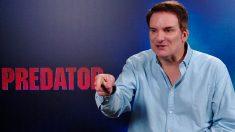 El director Shane Black durante la presentación de Predator. Foto: Europa Press