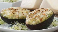 Receta de Aguacates gratinados con queso fáciles de preparar