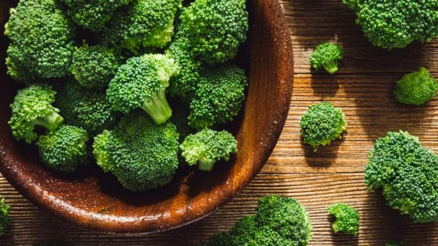 Receta de Crema de brócoli y almendras