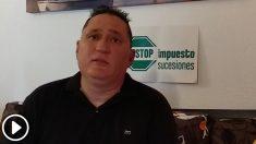 Juan Carlos Velarde, Stop Impuesto de Sucesiones