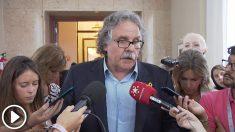 Joan Tardà, portavoz de ERC en el Congreso. (EP)