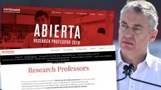 """Urkullu ofrece 10 plazas de investigador donde """"las mujeres son especialmente bienvenidas"""""""