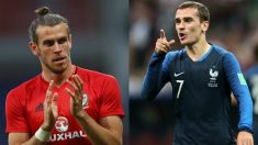 Gareth Bale y Antoine Griezmann.