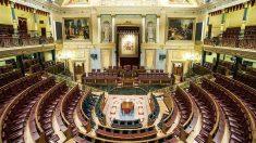 Hemiciclo del Congreso de los Diputados. (EP)