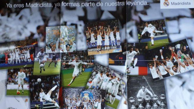 El Real Madrid da la bienvenida a nuevos socios con un póster de leyendas… sin Cristiano