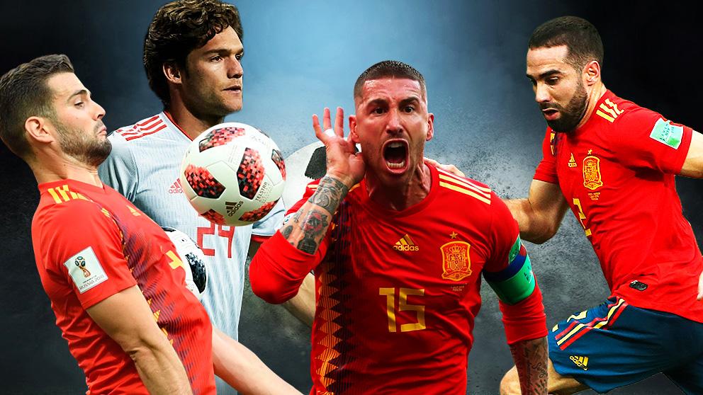 La defensa de España contra Inglaterra puede estar plagada de madridistas.