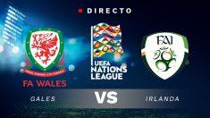 Liga de las Naciones: Gales – Irlanda | Partido de fútbol hoy en directo