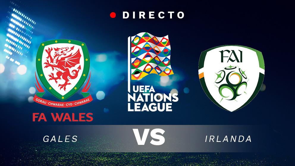 Liga de las Naciones: Gales – Irlanda   Partido de fútbol hoy en directo