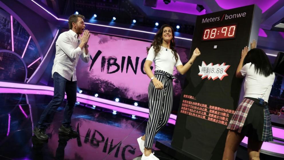 Carolina Marín ha demostrado ser una campeona en 'El Hormiguero'