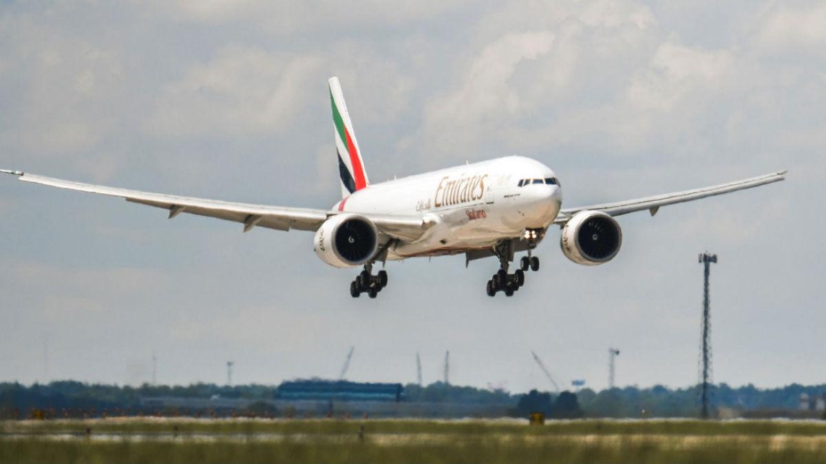 Fly Emirates.