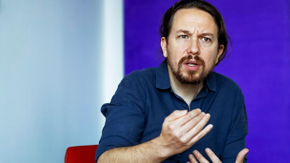 Pablo Iglesias, secretario general de Podemos. (Foto: EFE)
