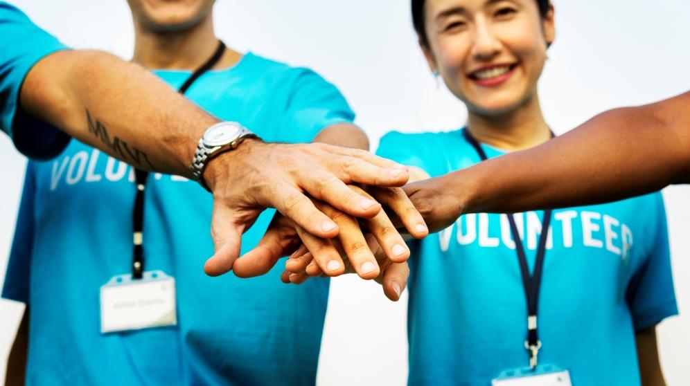 Ser voluntario es la mejor forma de ayudar a los demás