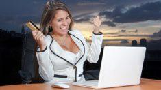 Solicitar una tarjeta de crédito por Internet es posible en tan solo unos minutos