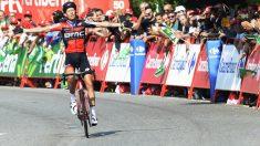 De Marchi se impuso en la undécima etapa de la Vuelta a España. (AFP)