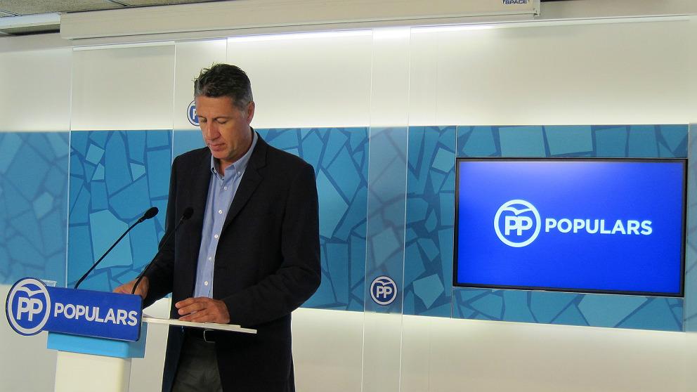 Xavier García Albiol, líder del PP en Cataluña. (EP)