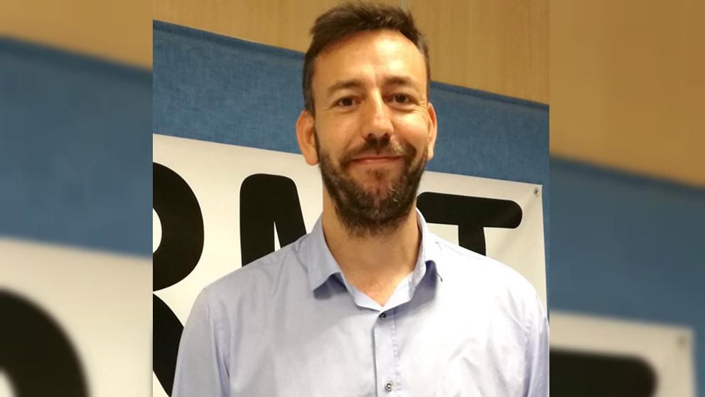 Carlos Vázquez Padín, alcalde de Tui (Pontevedra).