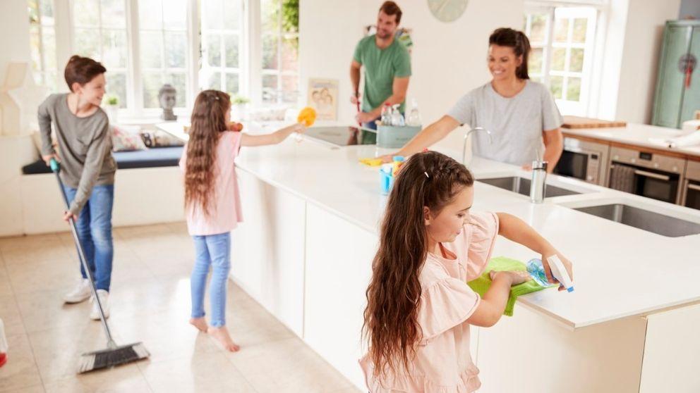 Te explicamos cómo organizar las tareas del hogar