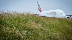 Alerta sanitaria en un vuelo de Emirates que llegó a Nueva York (Foto: AFP)