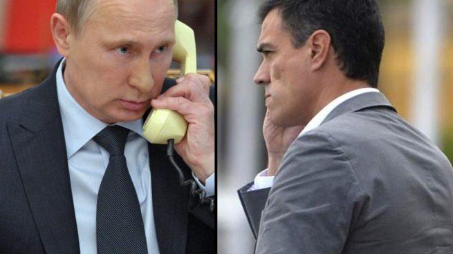 Sánchez Putin