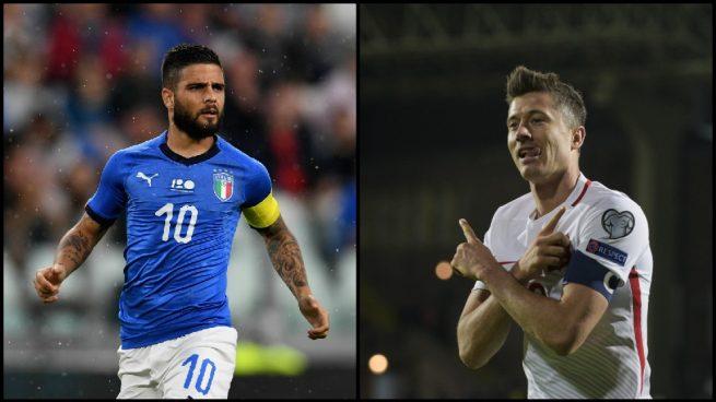 Italia debutó con un empate frente a Polonia