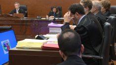 El juez que lleva el caso del hombre que lanzó a un bebé por la ventana en la Audiencia Provincial de Álava. Foto: Europa Press