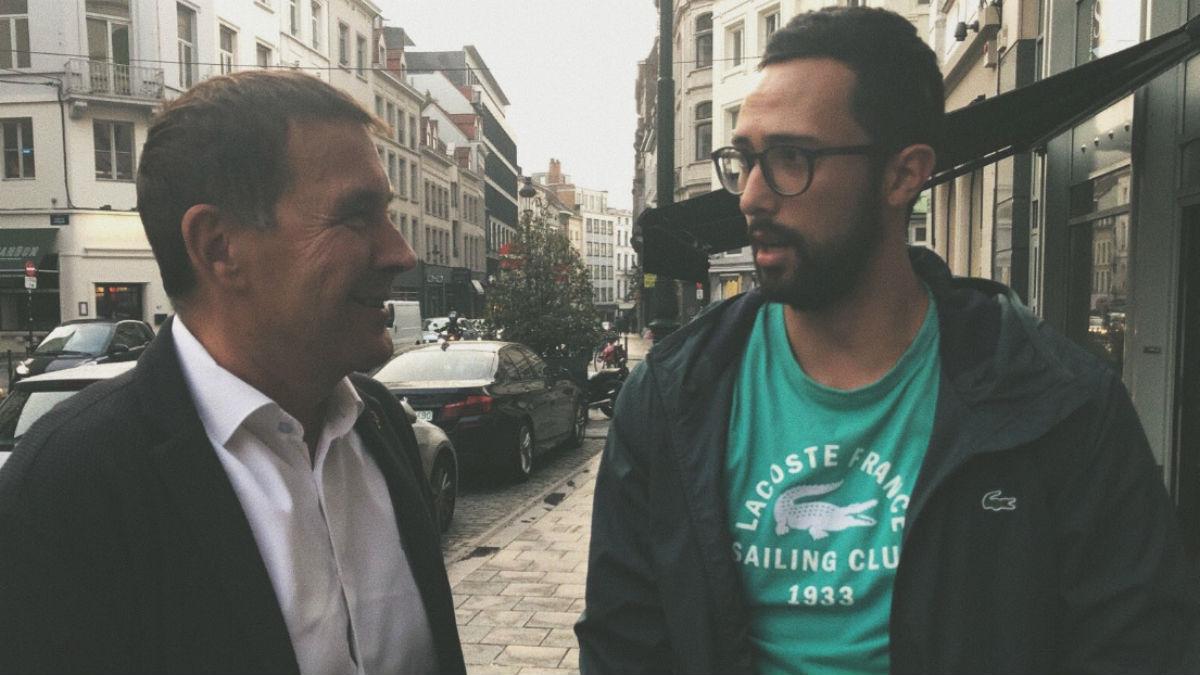 El etarra Otegi visita al fugado Valtonyc en Bruselas (RRSS).