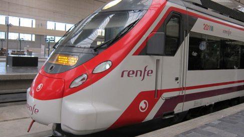 Un tren de Renfe. Foto: Europa Press
