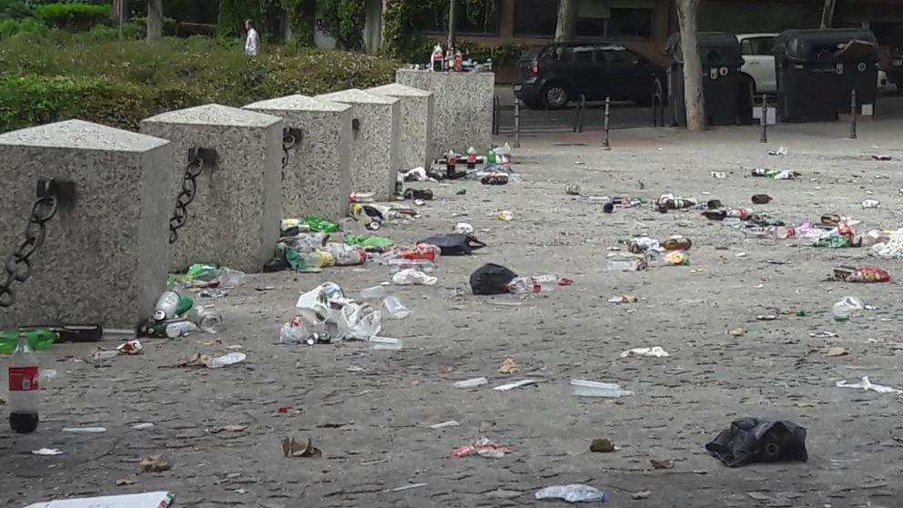 Los jóvenes de Granada no lo entienden: más de 55 denuncias por fiestas en pisos y botellones.