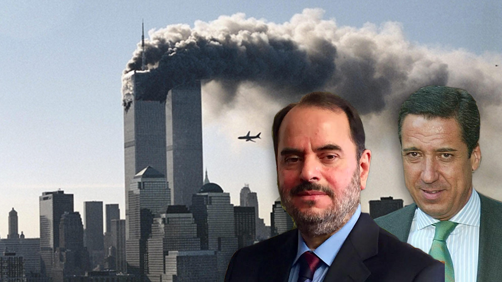 El empresario sirio Imad Al Naddaf Yalouk y el ex ministro de Trabajo Eduardo Zaplana.