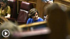 Soraya Sáenz de Santamaría, ex vicepresidenta del Gobierno. (EP)