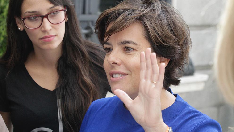 Soraya Sáenz de Santamaría. (Foto: Francisco Toledo)