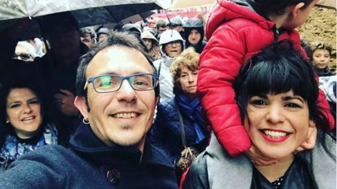 Teresa Rodríguez y Kichi ya son padres
