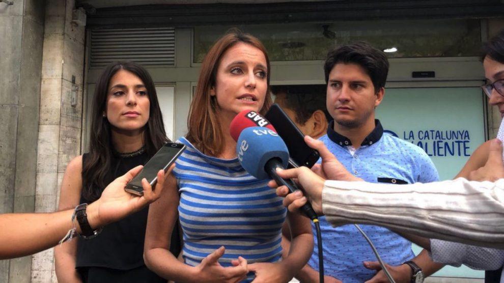 Andrea Levy en una imagen reciente (RRSS).