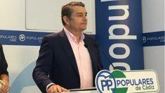 Antonio Sanz, senador y líder del PP en Cádiz. (EP)