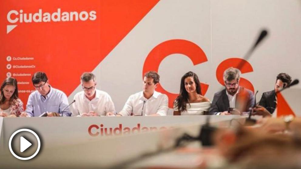 Comité Ejecutivo Nacional de Ciudadanos (RRSS).