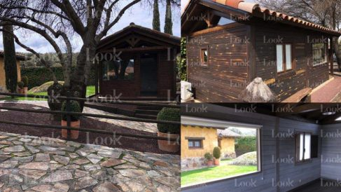Diferentes perspectivas de la casa de invitados de Iglesias. (Fotos. Look)