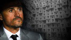 Luis Enrique tiene algunas dudas sobre la lista de convocados.