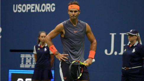 Rafa Nadal, en el pasado US Open. (AFP)