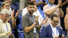 Piqué, en el US Open. (Instagram)