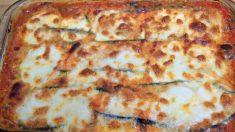 Receta de calabacín a la parmesana: Parmigiana di zucchine original italiana