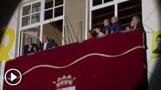 Quim Torra en el Ayuntamiento de Olot.