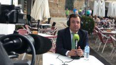 El presidente de la Junta de Extremadura, Guillermo Fernández Vara. Foto: Europa Press