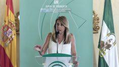 La presidenta de la Junta de Andalucía y secretaria general del PSOE-A, Susana Díaz. Foto: Europa Press