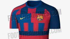 Nueva camiseta del Barcelona.