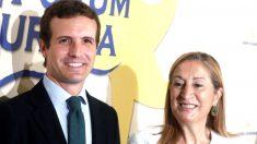 Pablo Casado y Ana Pastor en una reciente imagen (Foto: EFE).