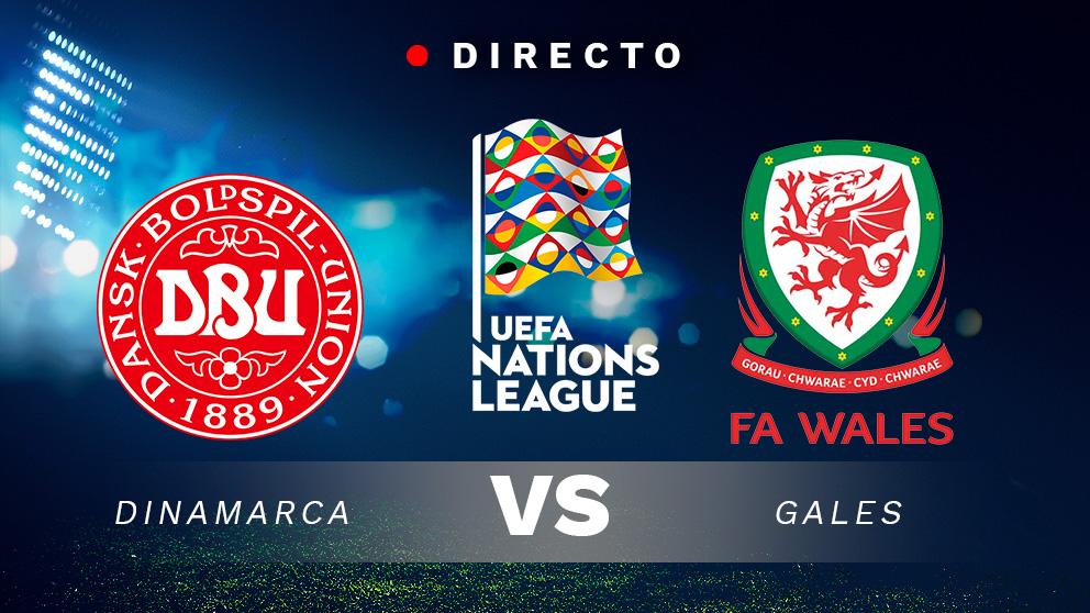 Liga de las Naciones: Dinamarca – Gales  Partido de fútbol hoy, en directo