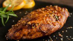 Receta de pollo con miel y limón fácil de preparar