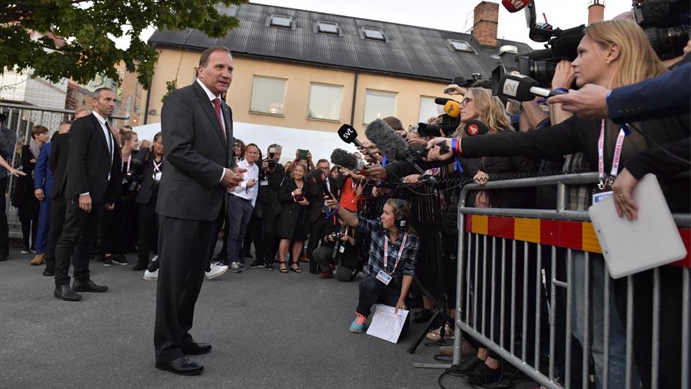 Stefan Lofven (Foto: AFP)