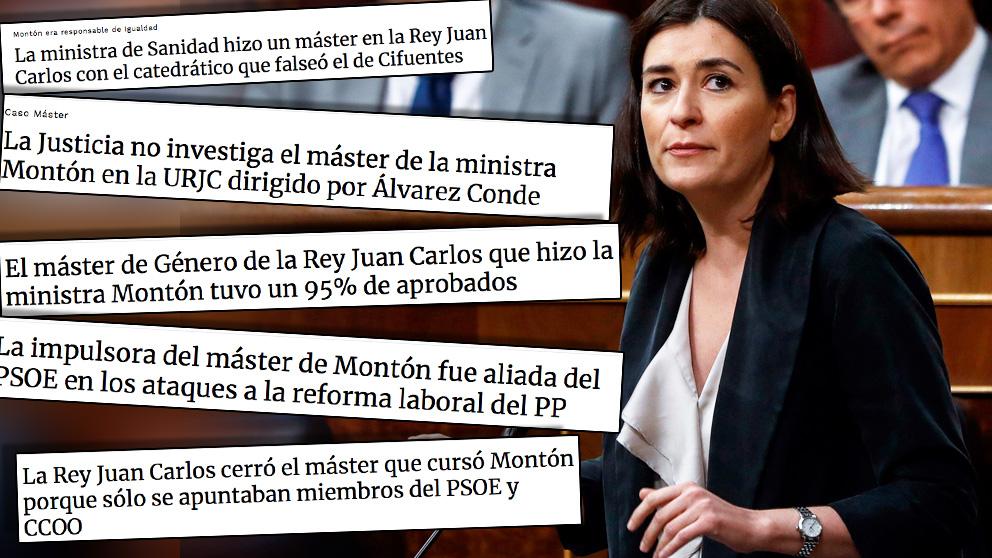 OKDIARIO fue el primer medio en informar sobre el máster de Carmen Montón