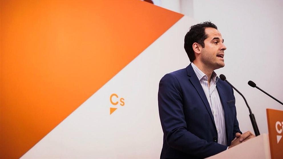 Ignacio Aguado, líder de C's en Madrid. (Foto: EP)